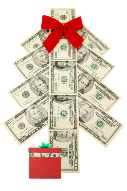 christmas shopping money in touch with t gray